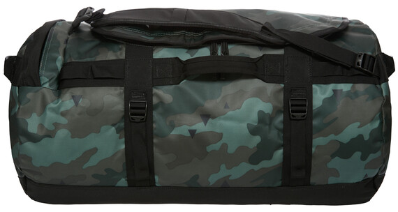 The North Face Base Camp Duffel M camo print/tnf black
